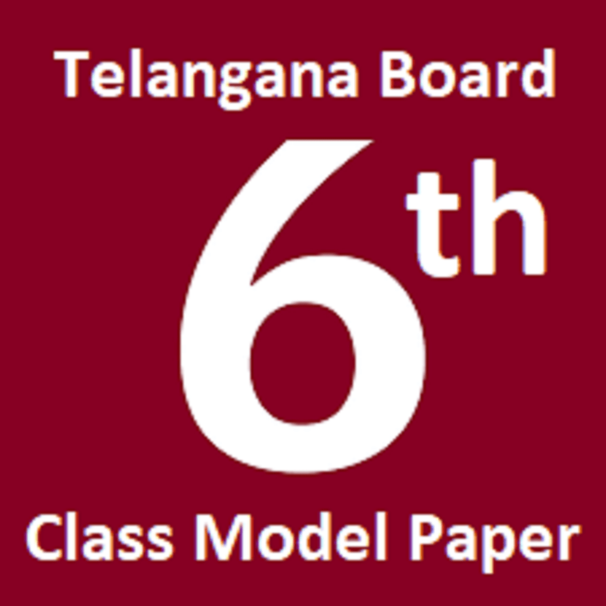 TS 6th Model Paper 2021 TS 6th Question Paper 2021 Telugu English Hindi