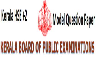 Kerala HSE Important Question Paper 2021